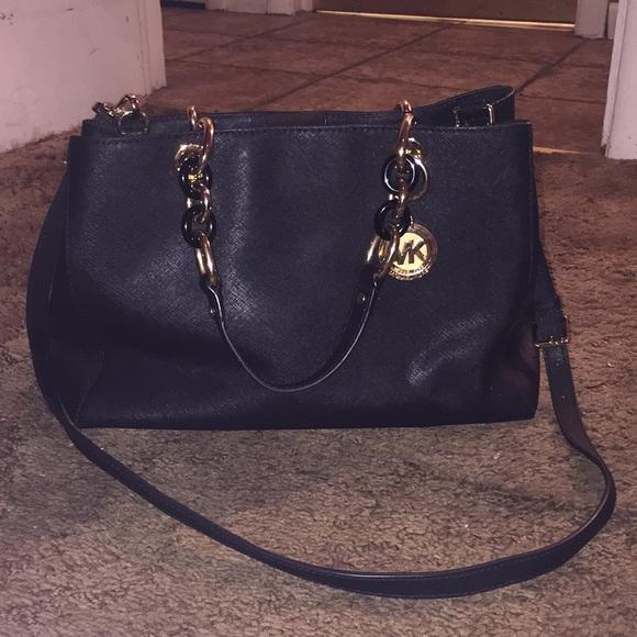 MICHAEL Michael Kors Bags   Trade Michael Kors Cynthia Satchel ... b57bfb5be5